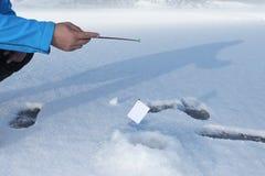 Conceptual photography Internet fishing Financial fraud stock image