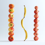 Conceptual Picture Of Fruits Royalty Free Stock Photography