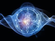Conceptual Sacred Geometry Royalty Free Stock Photo