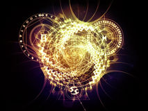 Conceptual Sacred Geometry Stock Images