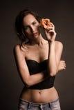 Conceptual shot about woman body's beauty Stock Photo
