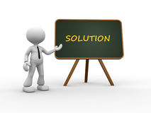 Conceptual solution Royalty Free Stock Photo