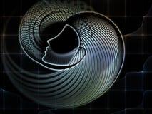 Conceptual Soul Geometry Royalty Free Stock Photos
