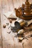 Conceptual still life with tea Royalty Free Stock Photos