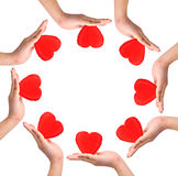 Conceptual symbol of love Royalty Free Stock Photography