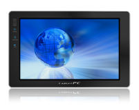 Conceptual tablet PC Royalty Free Stock Photo