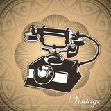 Conceptual vintage background. Royalty Free Stock Image