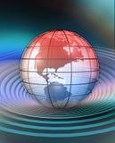 Conceptualização do globo Fotografia de Stock Royalty Free