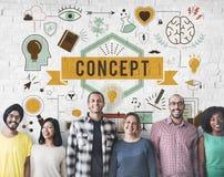 Conceptualize Conception Conceptual Ideas Plan Concept Stock Photography