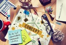 Conceptualize Conception Conceptual Ideas Plan Concept Royalty Free Stock Image