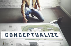 Conceptualize Ideas Creative Imagination Plan Intention Concept Royalty Free Stock Images