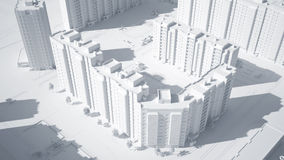 Conceptueel beeld van gebouwen vector illustratie