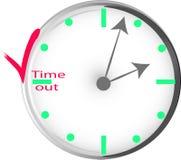 Conceptueel beeld van tijdbeheer stock illustratie