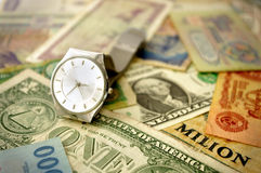 Conceptueel geld Stock Fotografie