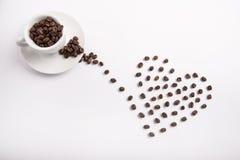 Conceptueel idee van koffie Royalty-vrije Stock Afbeeldingen