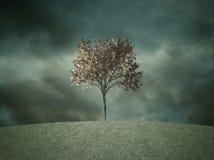 Conceptuele de rampenachtergrond van de milieuverontreiniging Royalty-vrije Stock Afbeelding