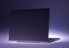Conceptuele Laptop Royalty-vrije Stock Afbeelding