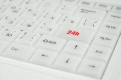 Conceptuele toetsenbordinschrijving Stock Foto