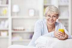 Concern for health Stock Photo