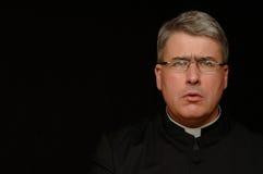 concerned священник Стоковые Фото