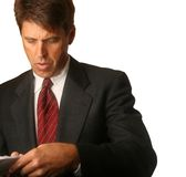 Concerned Business Man Royalty Free Stock Photography
