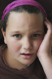 Concerned Girl Royalty Free Stock Photo