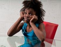 Concerned kid Stock Image