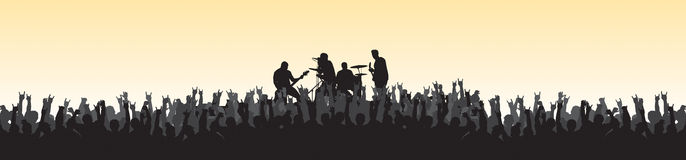 Concert 20 Royalty Free Stock Images