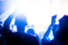 At the concert Royalty Free Stock Photo