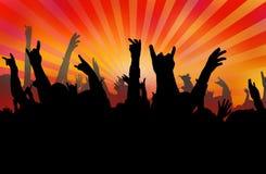 Concert royalty free illustration