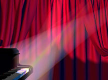 Concert. Background on a theme of a musical concert Royalty Free Stock Photos
