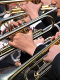 Concert. Musical instruments Royalty Free Stock Photo