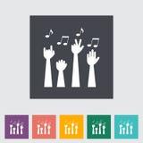 concert ilustração stock