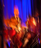 Concert abstrait de batteur. Photographie stock