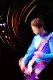Concert abstrait de guitariste Photo libre de droits