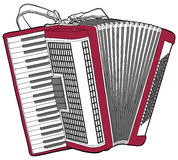 Concert Accordion Royalty Free Stock Photos