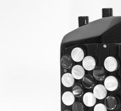Concert accordion detail Stock Photography