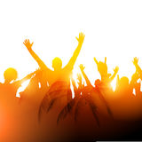 Concert Audience Vector Royalty Free Stock Image