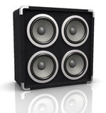Concert audio speaker Stock Image