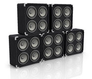 Concert audio speaker Royalty Free Stock Image