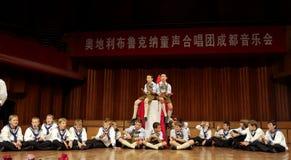 Concert of Austrian St,Florian Boy's Choir Royalty Free Stock Image