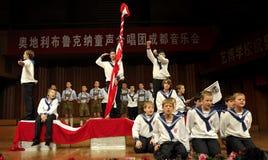 Concert of Austrian St,Florian Boy's Choir Stock Photography