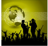 Concert background Royalty Free Stock Images