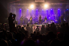 Concert background Stock Images