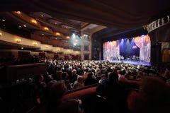 Concert at Ball Crystal Turandot Stock Images