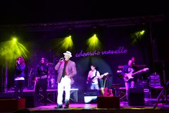 Concert by italian artist Edoardo Vianello in Ateleta