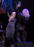 Concert Brian May et Kelly Ellis The Voice The Tour Photo stock