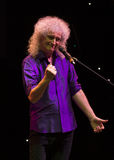 Concert Brian May et Kelly Wellis The Voice Images libres de droits