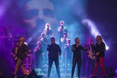 Concert chez Harpa Photographie stock libre de droits