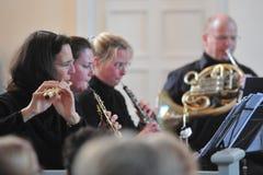 Concert classique photo stock